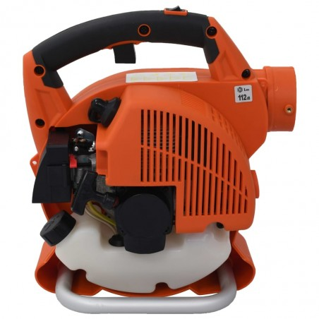 Soplador de hojas a gasolina 3 en 1 26 cc naranja