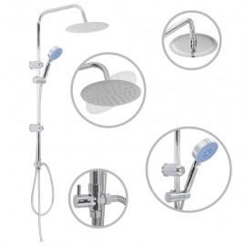 Kit de ducha combinado con ducha de mano acero inoxidable