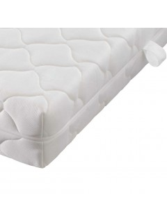 Colchón con funda lavable de 200 x 140 x 17 cm