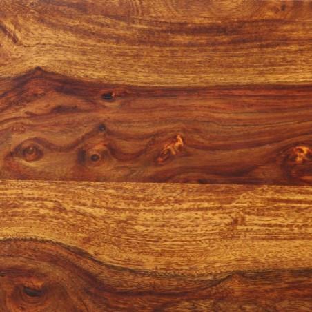 Banco estilo castillo madera maciza de sheesham 160x35x45 cm