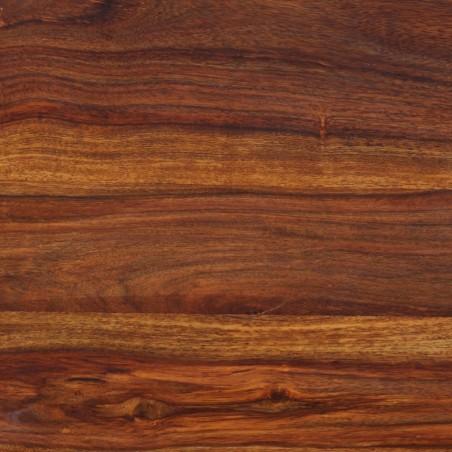 Banco estilo castillo madera maciza de sheesham 110x35x45 cm