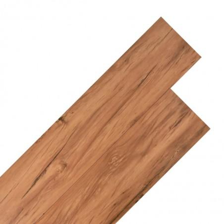 Lama para suelo de PVC 5,26 m² 2 mm olmo natural