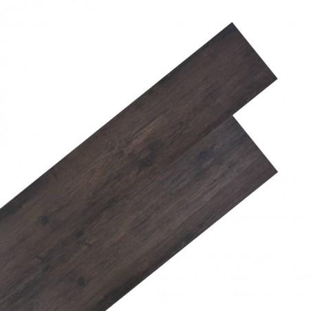 Lamas para suelo de PVC 5,26 m² 2 mm roble gris oscuro