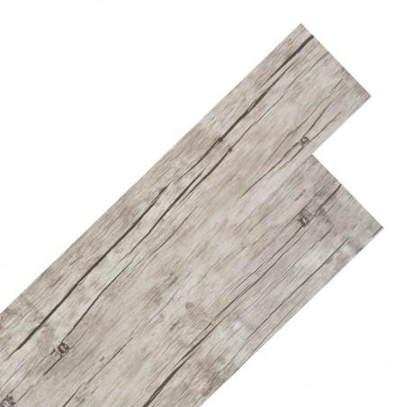 Lamas para suelo de PVC autoadhesivas 5,02m² 2mm roble