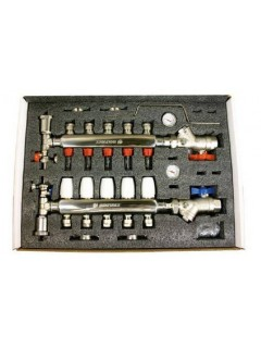 Colector Inox Aisi-304 4 Circuitos