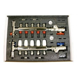 Colector Inox Aisi-304 6 Circuitos