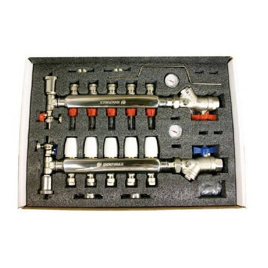 Colector Inox Aisi-304 8 Circuitos