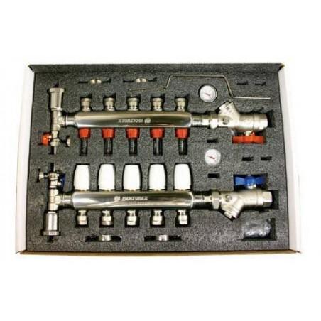 Colector Inox Aisi-304 9 Circuitos