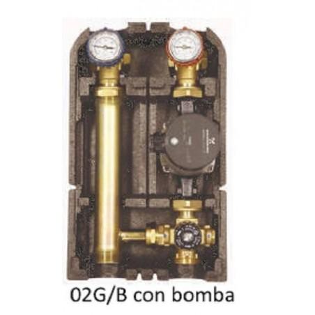 Grupo Distribucion Con V.Mezcladora A P.Fijo Con Bomba