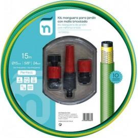 Manguera Riego 15Mt-15 4C Natuur Ver Perfe Tric +Acc Nt99222