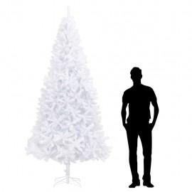 Árbol de Navidad artificial blanco 300 cm