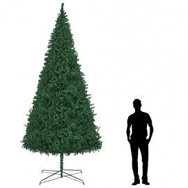 Árbol de Navidad artificial 400 cm verde