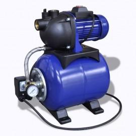 Bomba De Jardín Eléctrica 1200W Azul