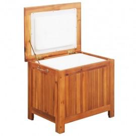 Nevera portátil de madera maciza de acacia 63x44x50 cm