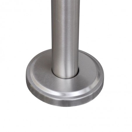 Soporte de acero inoxidable para buzón de exterior