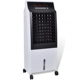 Enfriador de aire ventilador purificador humidificador 8 L