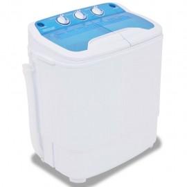 Mini lavadora con 2 tambores 5,6 kg