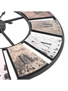 Reloj de pared vintage movimiento cuarzo 60 cm XXL