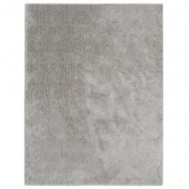 Alfombra de pelo gris 160x230 cm