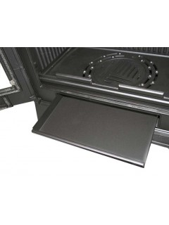 Estufa De Fundicion 9Kw Con Cristal Vision  Modelo Preston-9-V