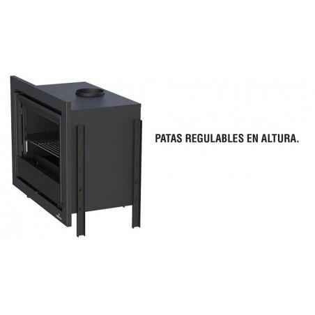 Insertable Cristal Derecho Con Turbina  Modelo Paris-70-Ed