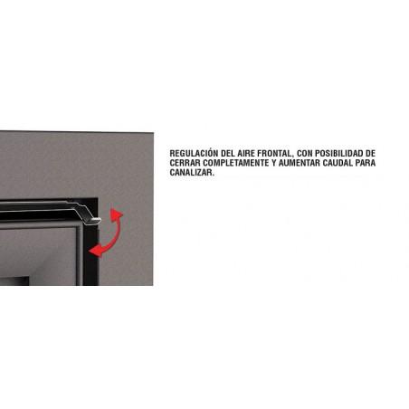 Insertable Cristal Derecho Con Turbina  Modelo Paris-90-Ed