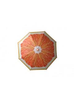 Sombrilla Playa 180Cm Natuur Oxford Naranja