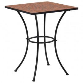 Mesa de mosaico para cafetería cerámica terracota 60 cm