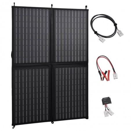 Cargador solar plegable 100 W 12 V
