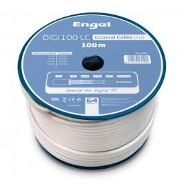 Cable Antena 100Mt Coaxial Axil Bl Prof Ca7100R Ud