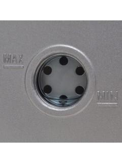 Bomba de vacío una etapa y manómetro colector cuatridireccional