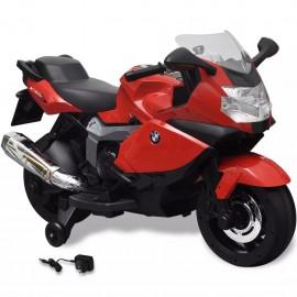 Moto eléctrica de juguete color rojo, modelo BMW 283 6 V