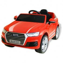 Coche eléctrico Audi Q7 rojo 6 V