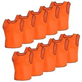 10 petos deportivos naranjas para adultos