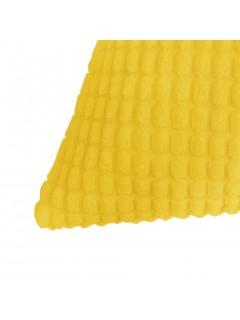 Cojines de terciopelo 45x45 cm amarillo 2 unidades