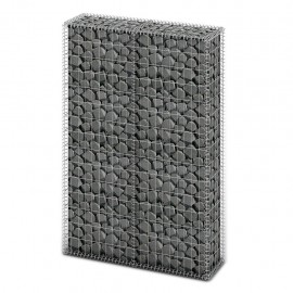 Cesta para muro de gaviones de alambre galvanizado 150x100x30cm