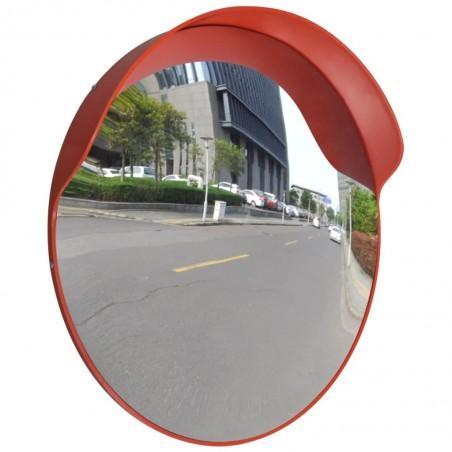 Espejo convexo exteriores para el tráfico marco naranja 60 cm