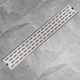 Desagüe lineal de ducha 730x140 mm acero inoxidable