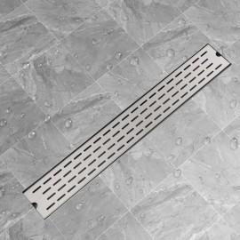 Desagüe lineal de ducha 830x140 mm acero inoxidable