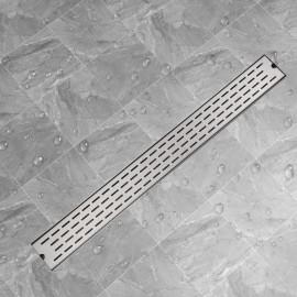 Desagüe lineal de ducha líneas 1030x140 mm acero inoxidable
