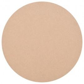 Tablero de mesa redondo MDF 800x18 mm