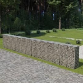 Muro de gavionescon cubiertas acero galvanizado 900x50x150 cm