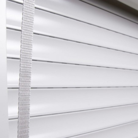 Persiana enrollable aluminio blanca 70x100 cm