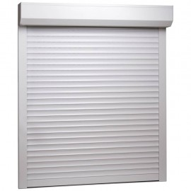 Persiana enrollable aluminio blanca 100x120 cm