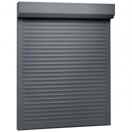 Persiana enrollable aluminio gris antracita 100x130 cm