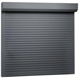 Persiana enrollable aluminio gris antracita 160x150 cm