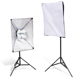 2 Soporte de luces con softbox