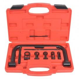 Compresor de muelles de válvula 10 piezas Set de herramientas