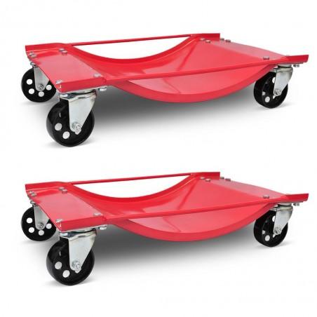 Carritos de transporte de coches 2 unidades