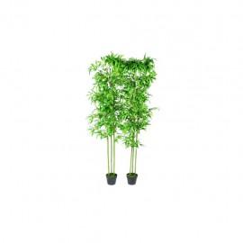 Planta artificial de bambú set de 2 unidades 190 cm
